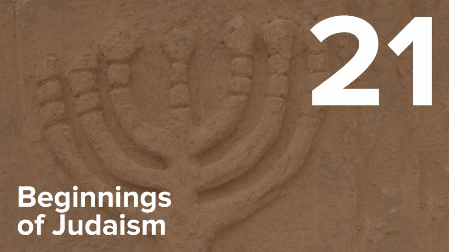 From Jerusalem to Yavne-Rabbinic Judaism
