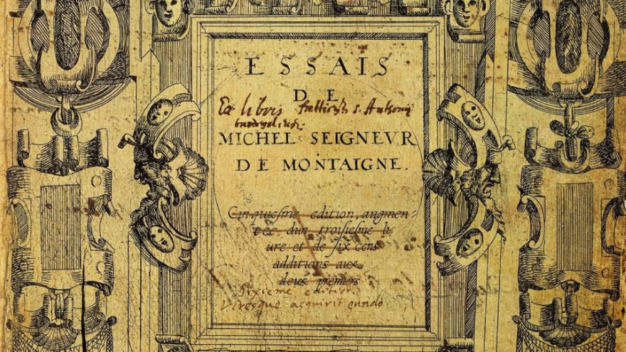 Montaigne and Pascal-Evil and the Self
