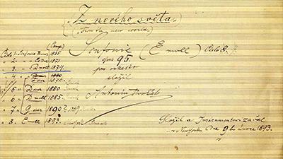 Dvorak-Symphony No. 9 in E Minor, III
