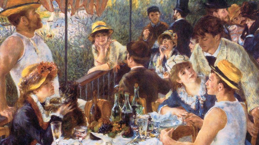 Renoir, Pissarro, and Cezanne