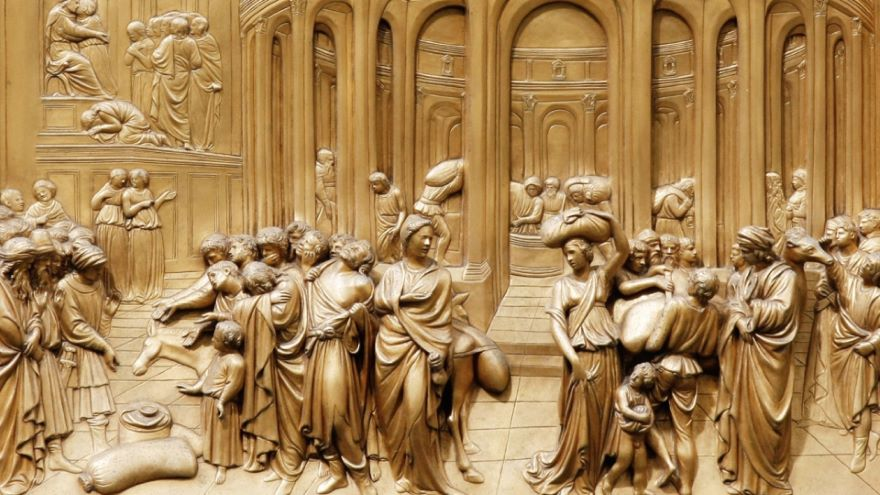 Brunelleschi and Ghiberti in Florence