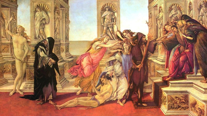 Botticelli and the Trouble in Italy