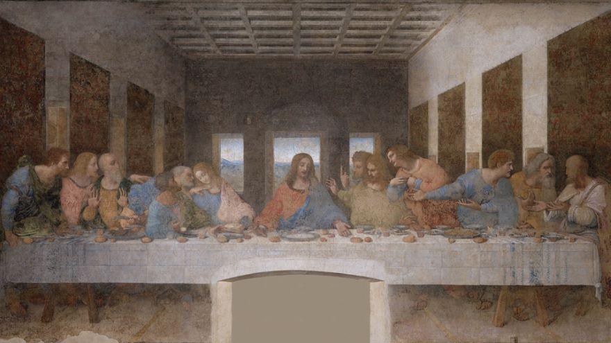 Leonardo da Vinci-The Last Supper