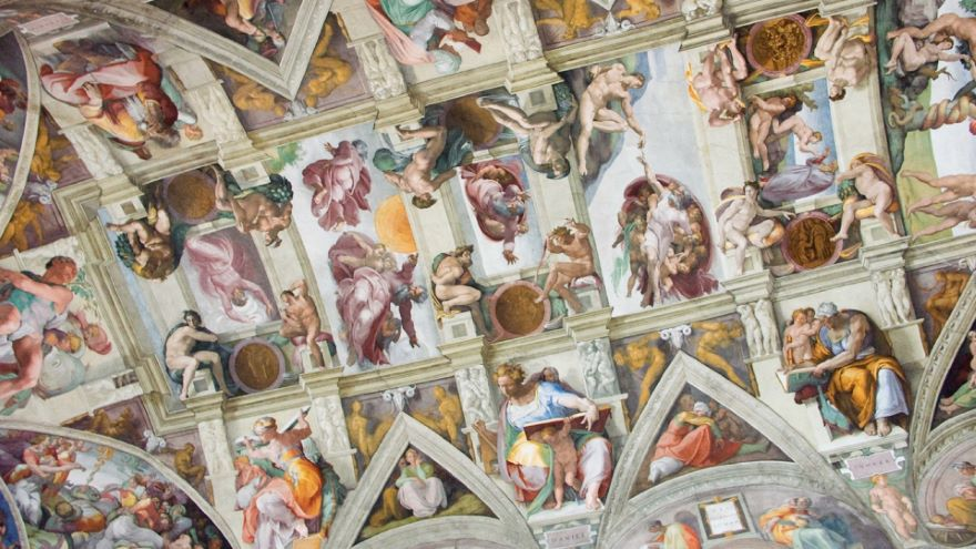 Michelangelo-The Sistine Chapel Ceiling
