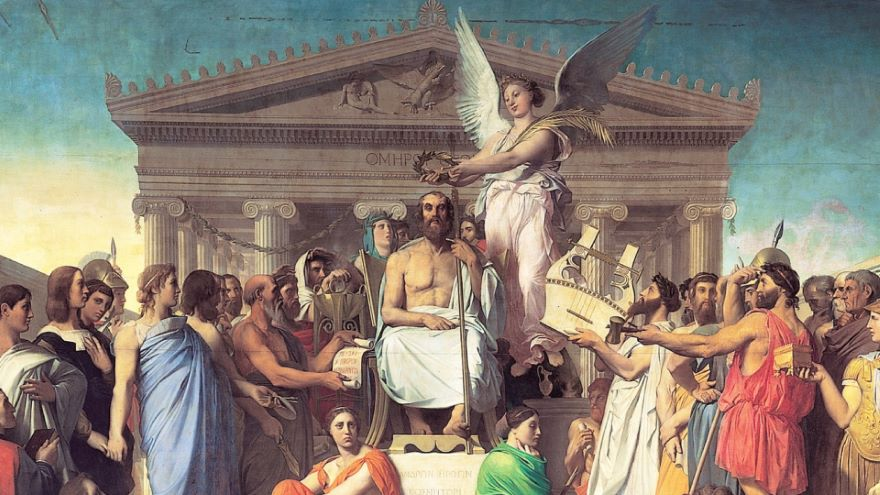 Delacroix and Ingres-The Great Dialectic