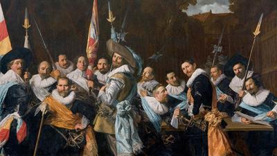 Frans Hals—Civic Group Portraits