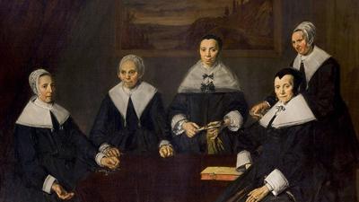 Frans Hals—Later Portraits
