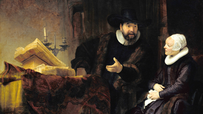Rembrandt's Personal Baroque Style