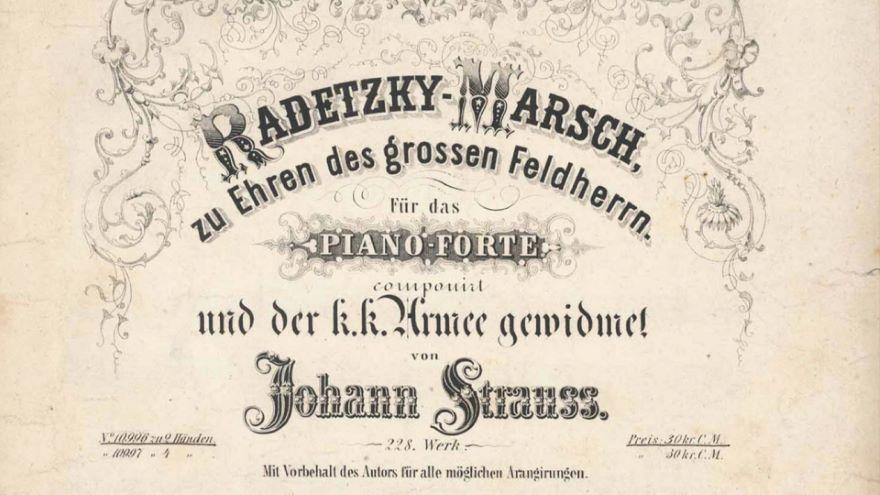 Strauss Sr.: Radetzky March (1848)