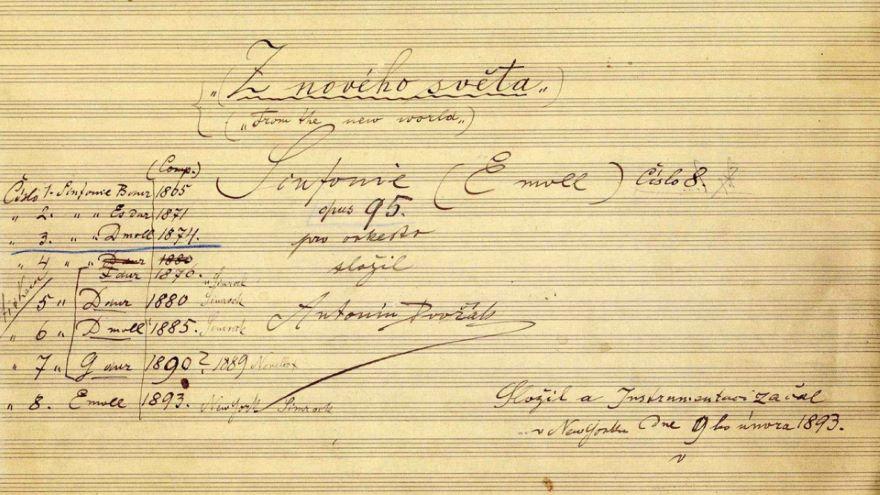Dvorak: From the New World Symphony (1893)