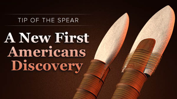 Stone Spear and the First Americans
