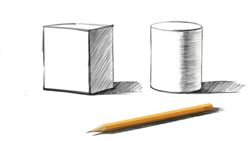 Linear Perspective: Ellipses and Pattern
