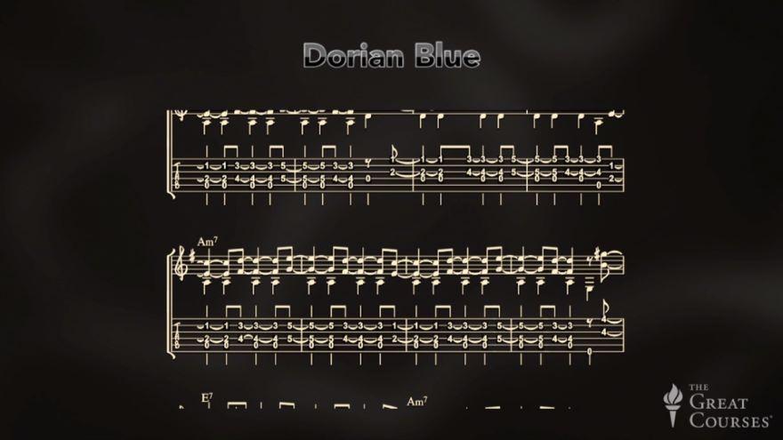Jazz Harmony and Dorian Mode