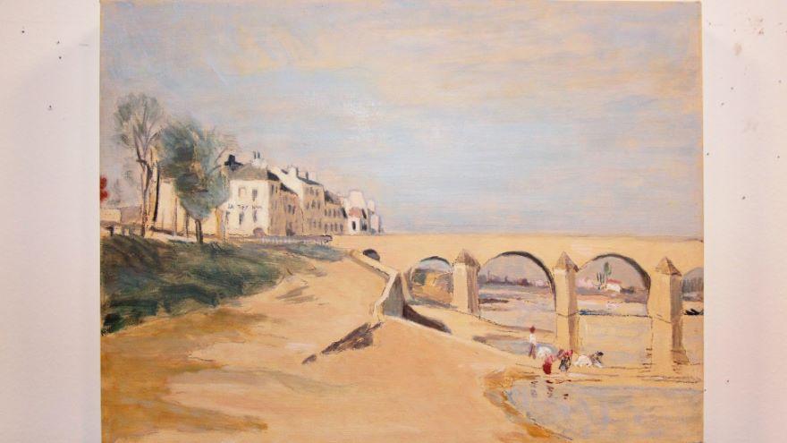 Project:A Corot Landscape