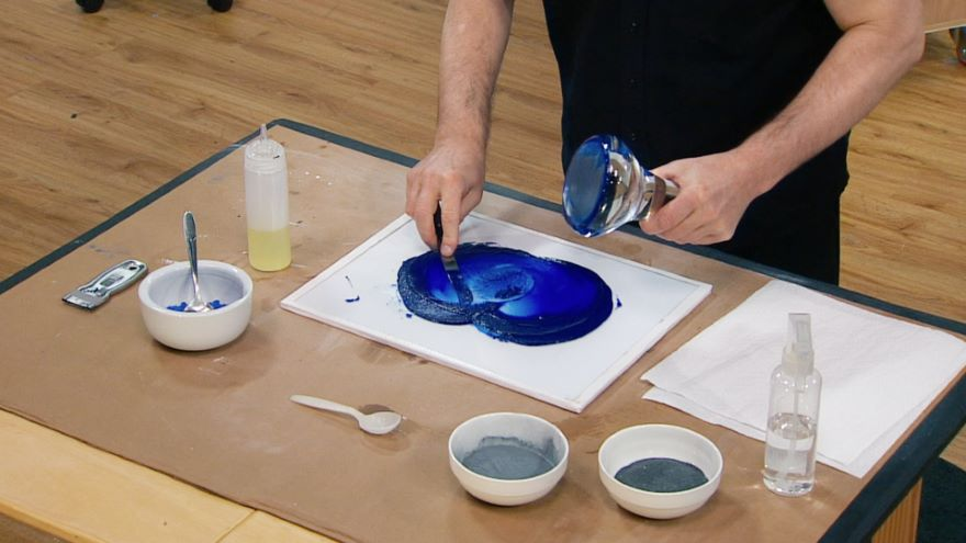 Painting's Evolution: Indirect Painting