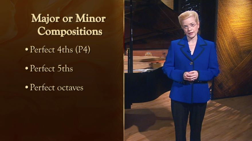 One-Octave Major Scales and Major Intervals