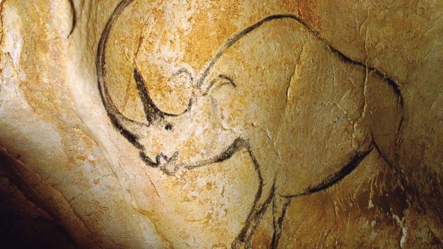 Ancient Cave Art-Chauvet, France