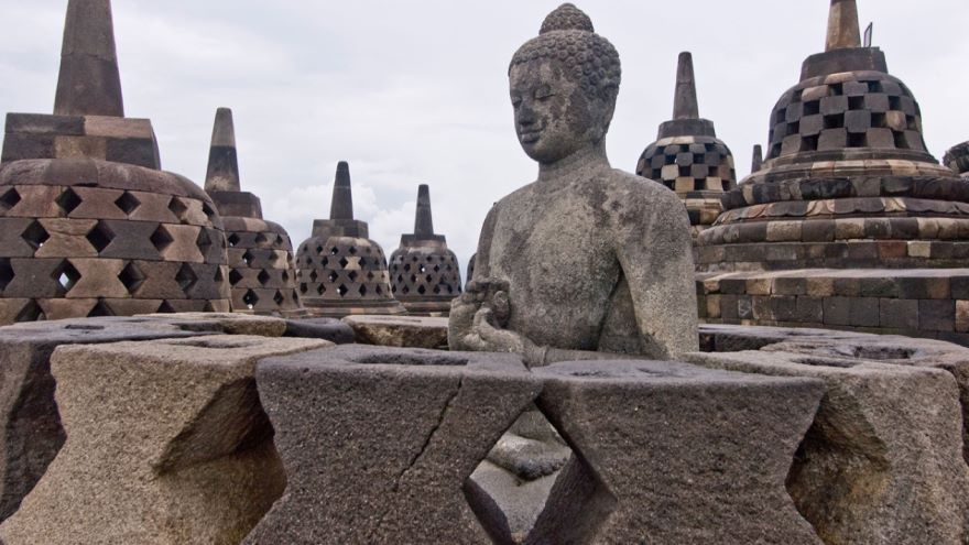 Borobudur-Ancient Buddhist Stupa