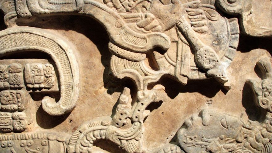Carved Stone Lintels of Yaxchilan