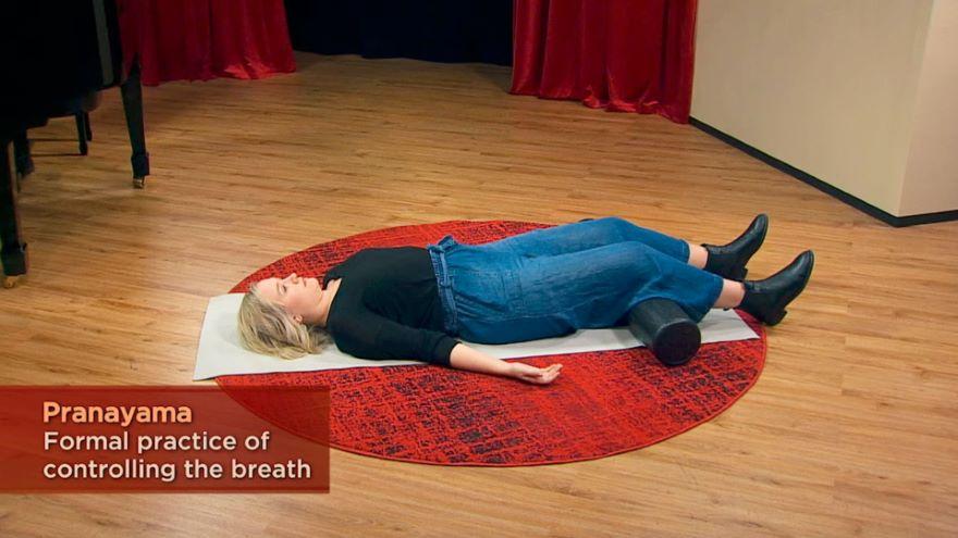 Inhalation for Singing