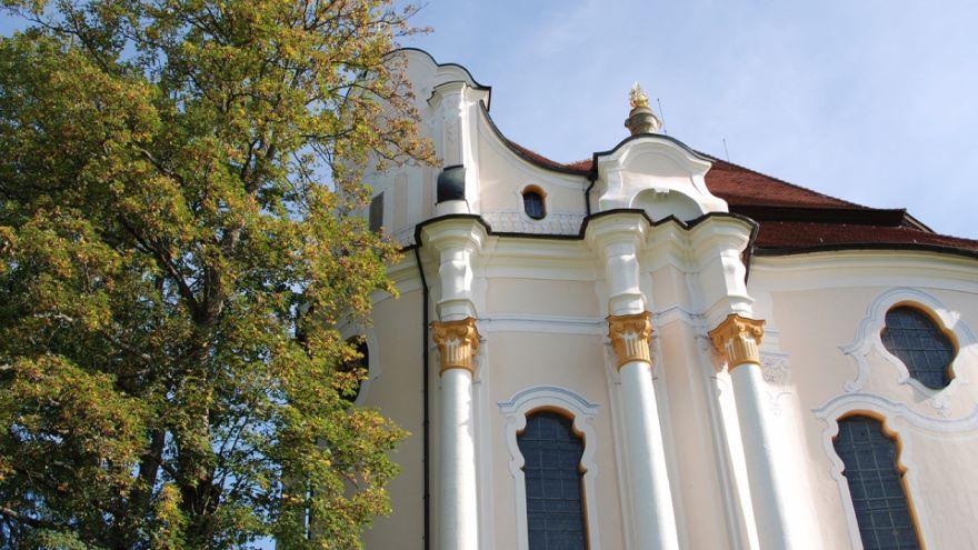 The Wieskirche in Bavaria