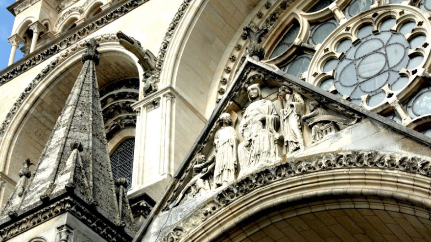 Early Gothic Style-Laon