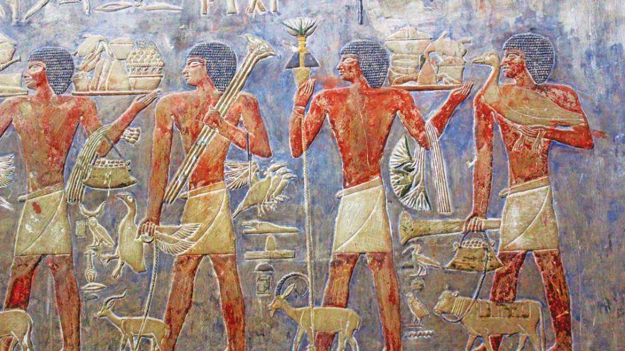 Saqqara's Famous Fifth-Dynasty Tombs