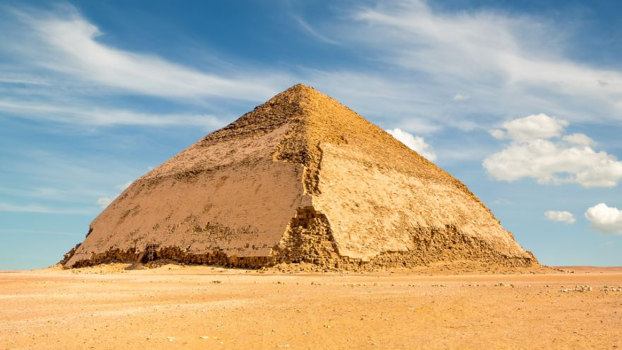 King Sneferu and the First True Pyramid
