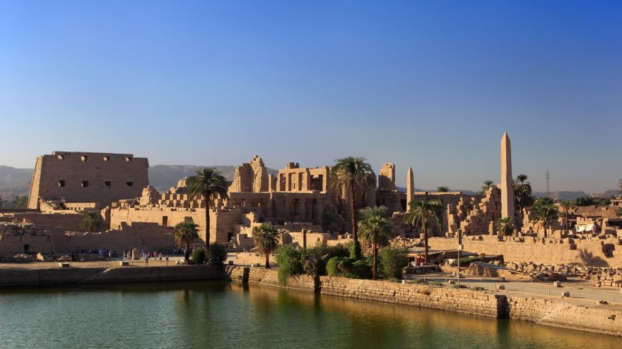 The Temple of Amun-Re at Karnak