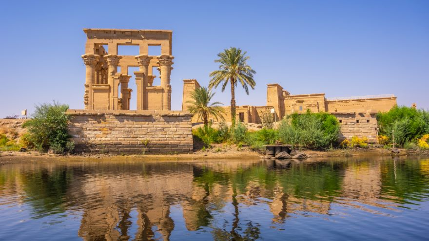 The Temples at Philae and Abu Simbel