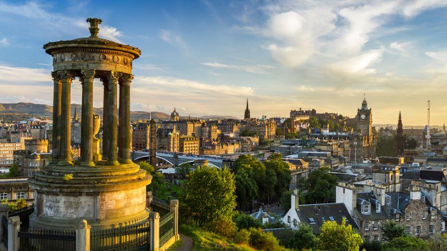 Edinburgh and Glasgow