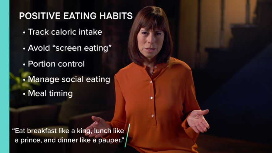 Better Habits for Healthy Eating