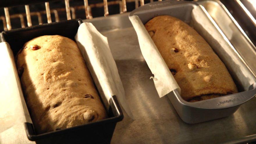 Raisin Whole Wheat Swirl Bread