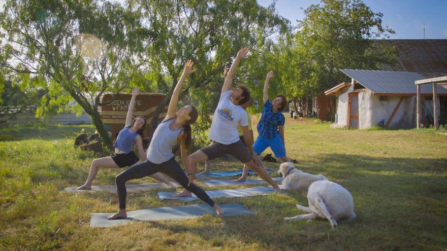 Yoga Field Trips: The Farm