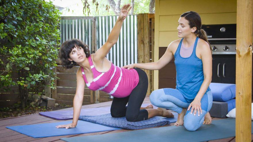 Yoga Field Trips: The Pregnant Nurse