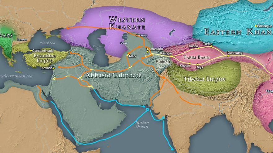 751 Talas & 1192 Tarain-Islam into Asia
