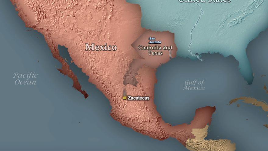1836 San Jacinto-Mexico's Big Loss
