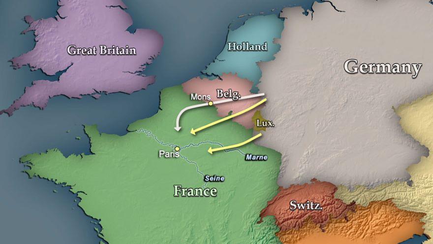 1914 Marne-Paris Is Saved