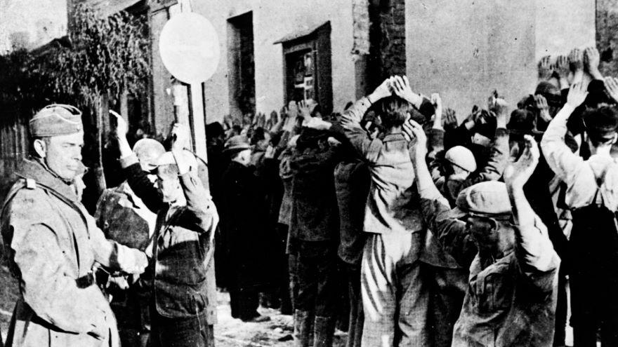 Jews inside the Warsaw Ghetto