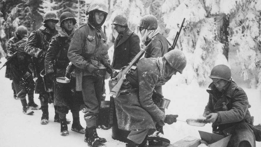 Commanders at the Battle of the Bulge