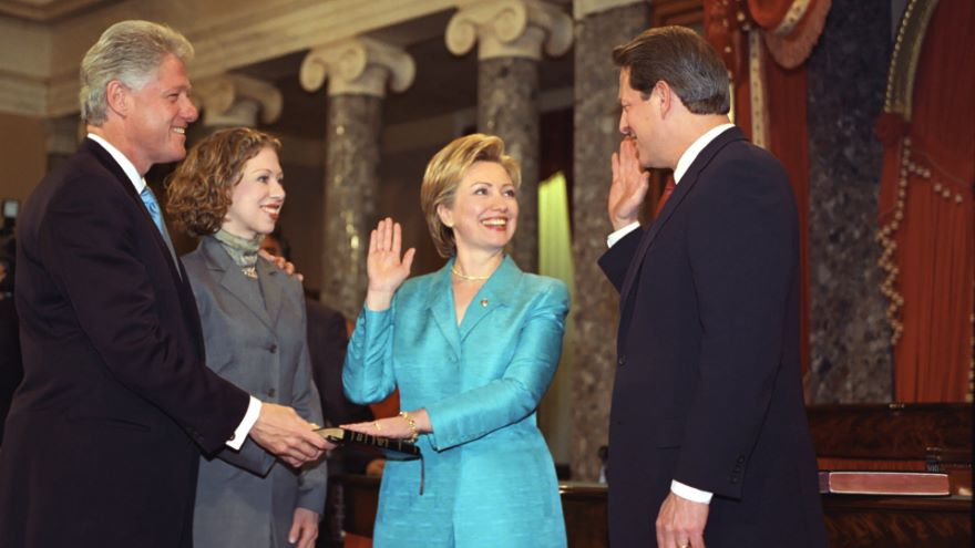The Clintons and the 1990s