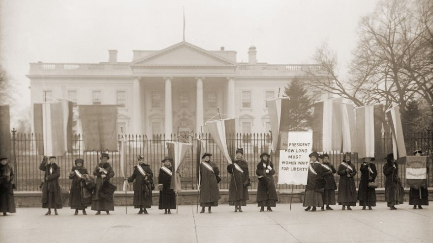The Women's Revolution for the Right to Vote
