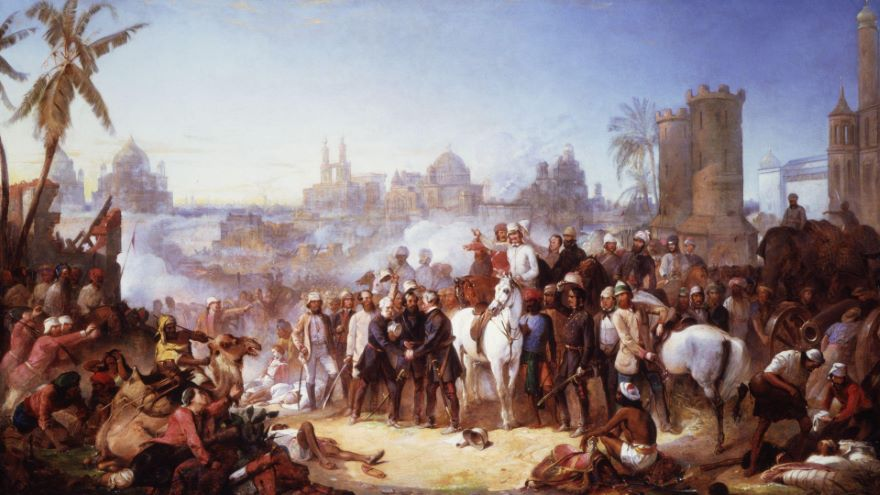 The Issues and Events of 1857