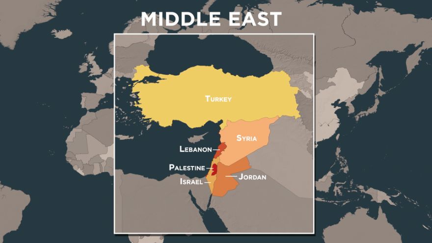 A Middle East Crossroads in the Year 1900