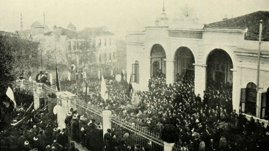 Constitutional Revolts in Persia and Turkey