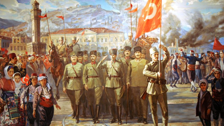 Egyptian Revolution and Turkish Independence