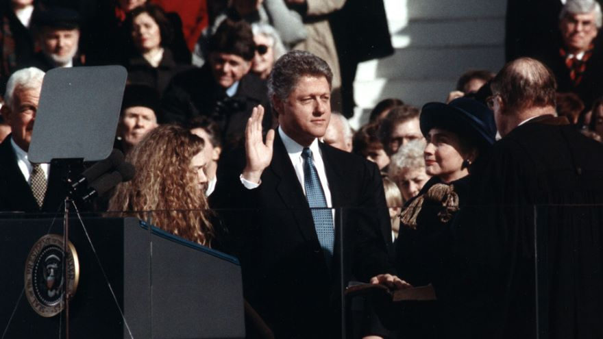 Clinton's America and the Millennium