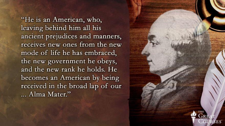 Hector Saint John de Crevecoeur's Americans