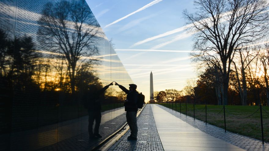 Veterans Memorials on the Mall