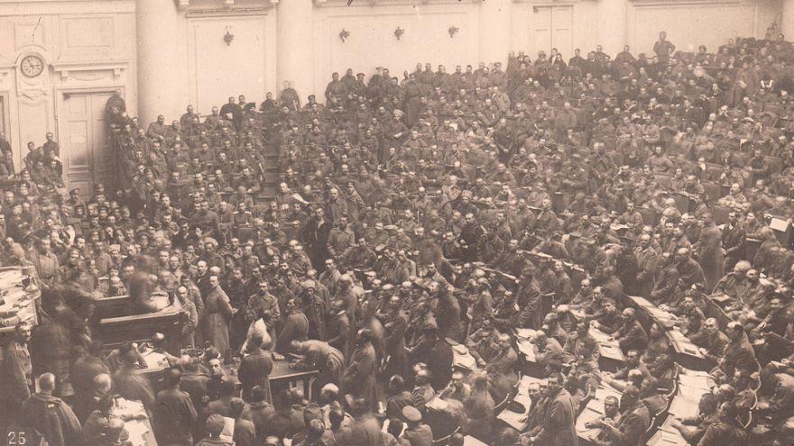 The Russian Revolution-1917-22